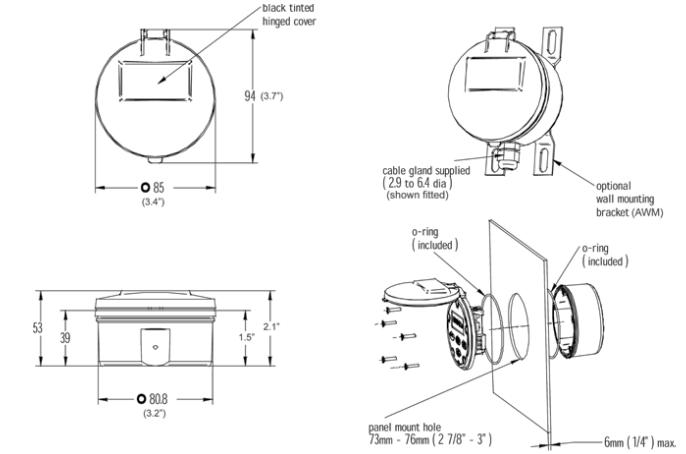 battery totaliser - bt series